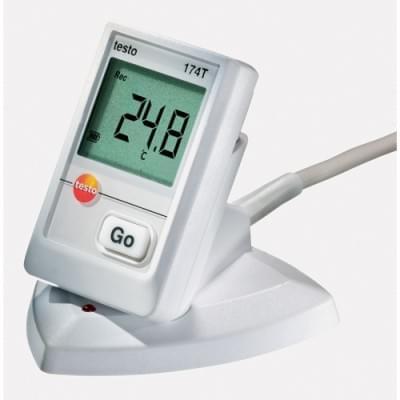 Testo 174T sada - záznamník teploty, držák, rozhraní USB