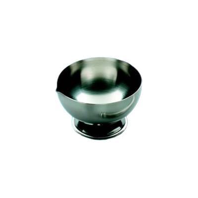 Miska třecí, nerezová, průměr 90 mm - 100 mm