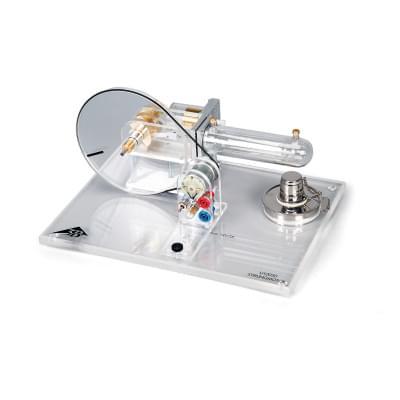 Transparent Stirling Engine